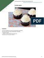Recette Glaçage noix de coco _ recette illustrée, simple et facileRecette Gateau