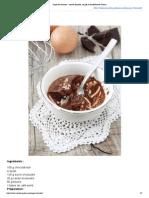 Soupe de chocolat _ recette illustrée, simple et facileRecette Gateau