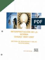 Interpretación de la Norma OHSAS 18001 2007 Sistema de Seguridad y Salud Ocupacional - SGS.pdf