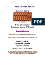 Abacus Summer Camp
