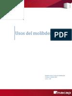 Molibdeno y sus usos - Jesus Bascour. 120.docx