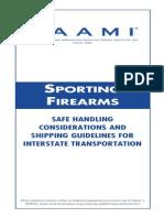 SAAMI ITEM 203-Sporting Firearms