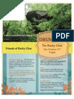 Drumming at Rocky Glen - October 11th