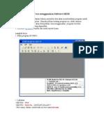 Cara menggunakan Software MIDE.doc
