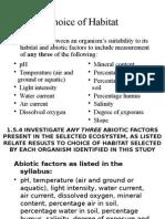 1.5.4 Abiotic Factors