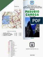 Libretto Sentieri Pasubio Carega