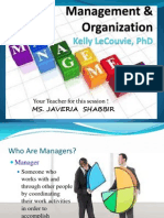 COL MBA MANAGEMENT AND ORGANIZATION