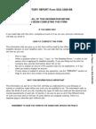 Work History Report SSA-3369-BK