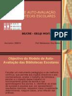 Modelo Auto-avaliação power point - Dina