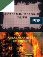 Kebakaran Hutan Kelompok 5, SMP Islam Raudlatul Jannah Bekasi