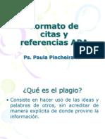 Formato de citas y referencias APA.ppt