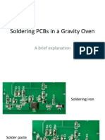 Soldering PCBs in a Gravity Oven