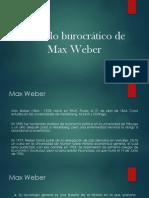 Modelo burocrático de Max Weber.pptx