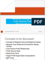 Marginal Costing and CVP