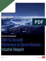 ABB Industrial Maintenance