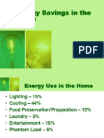 energy savings in the home.ppt