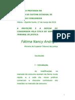 12_20801511132742010_Artigo - Ministra Fatima Nancy Andrighi - II Fórum do Sistema Estadual de Defesa do Consumidor.doc