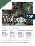 Concerning Violence Presskit 140124