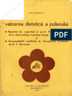 Valoarea Dietetica a Polenului - 1977 - 17 Pag