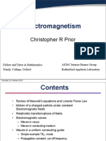 Electromagnetism, Prior