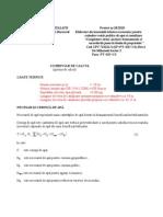 Extindere Retea de Canalizare-breviar Calcul