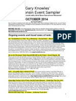 1 2014 October Calendar for Wpr