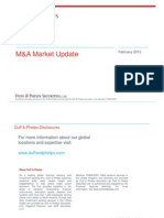 Duff & Phelps M&A Overview 2013