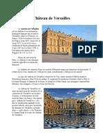Referat Château de Versailles.doc