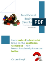 Traditional Business Structures