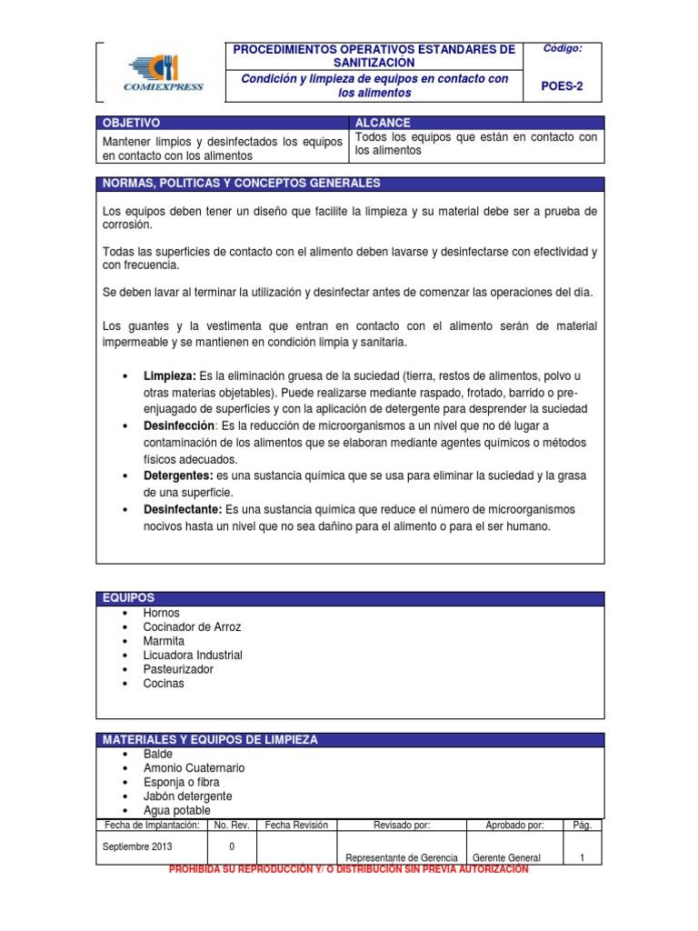 POES 2-02 - Condición y limpieza de equipos.docx