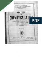 FARIA, Ernesto - Síntese de gramática latina.pdf
