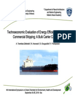 Technoeconomic Εvaluation of Energy Efficiency Retrofits in Commercial Shipping (presentation)