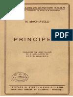 N.machiavelli – Principele Ed.1943 [V2.0]