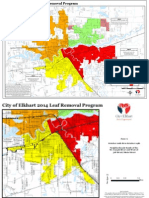 2014 Elkhart leaf pickup map
