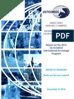 USICOMOS International Exchange Program