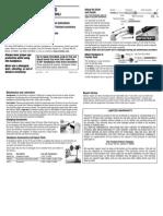 Foredom Hand Piece Instructions-30/30SJ