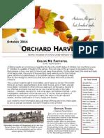 October 2014 Harvester Newsletter