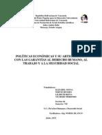 Estrategias Y Políticas Económicas Y La Garantía Al Derecho Humano Al Trabajo Y A La Seguridad Social.docx