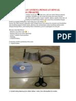 Cara Membuat Antena Penguat Sinyal Modem Paling Praktis