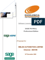 Proposal Melss Automation Limited