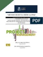Método ruta crítica CPM