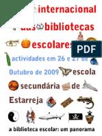 Cartaz do Mês Internacional das Bibliotecas Escolares