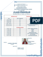 class program grade two