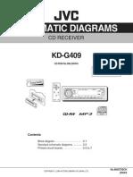 JVC  Auto+radio KD-G409