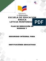 Plan de Reduccion de RiesgosEscuela  corregido.doc