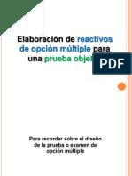 ELABORACIÓN REACTIVOS I.ppt