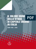 Lo Stock Di Capitale Umano in Italia - 18_feb_2014 - Testo Del Volume