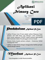 Aplikasi Primary Care