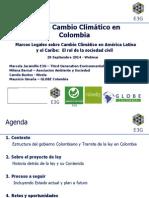 Ley de Cambio Climático en Colombia - Webinar GFLAC FINAL.PPTX