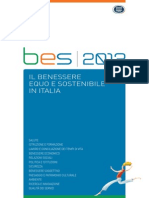 Il benessere equo e sostenibile in Italia
